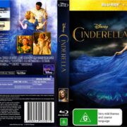 Cinderella (2015) R4 Blu-Ray DVD Cover