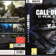 Call of Duty – Ghosts (2013) DVD Cover & Labels