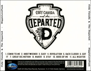 Cody Canada & The Departed - HippieLovePunk - Back