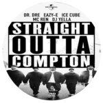 Straight Outta Compton (2015) R0 Custom Label