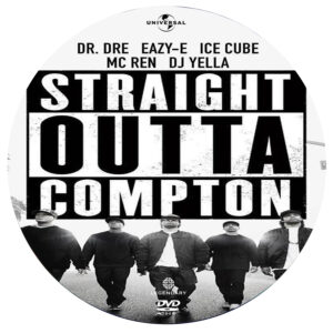 straight outta compton dvd label