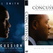 Concussion (2015) Custom DVD Cover