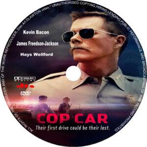 Cop Car (2015) R1 CUSTOM cd