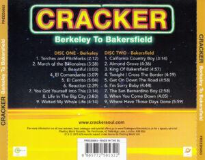 Cracker - Berkeley To Bakersfield - Back
