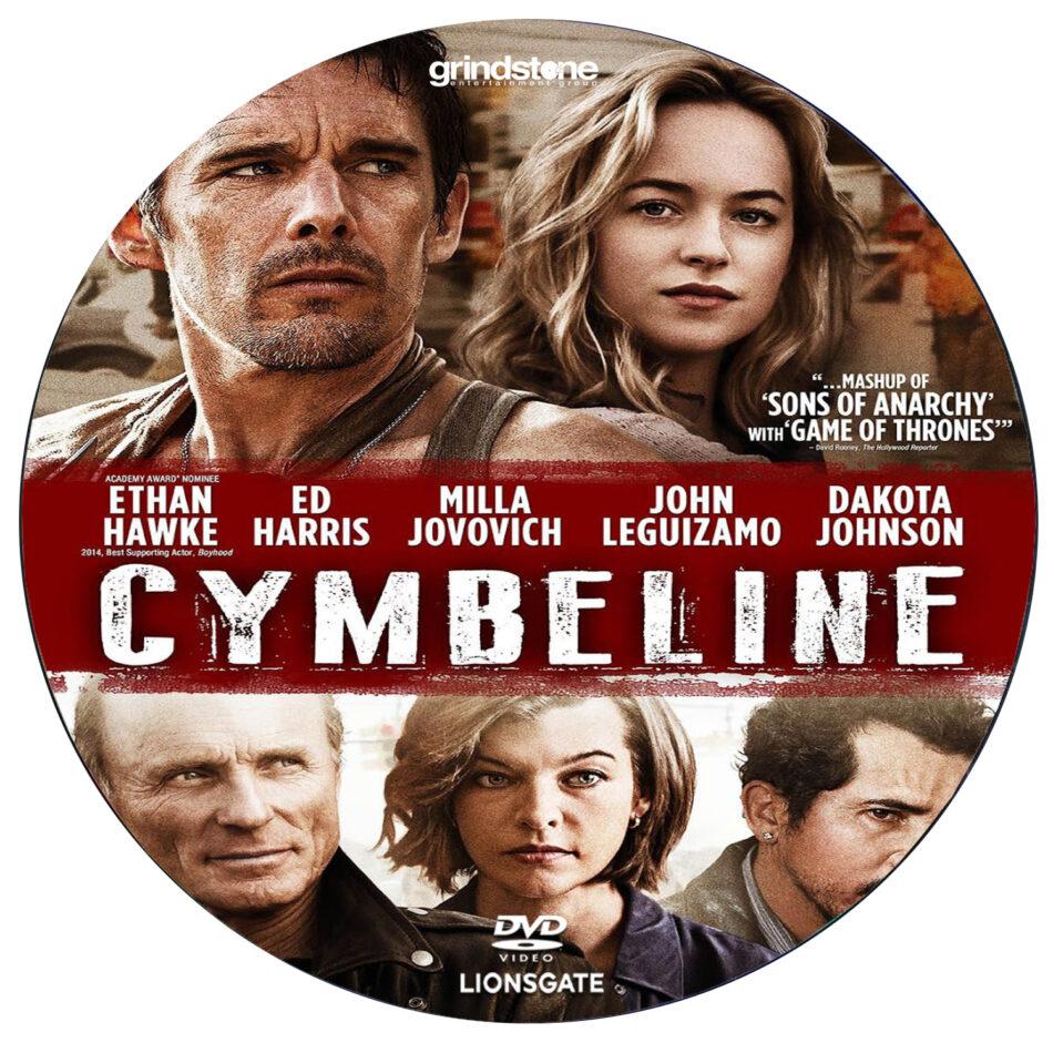 cymbeline dvd label