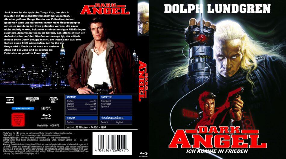 Dark Angel Blu Ray Cover 1990 German