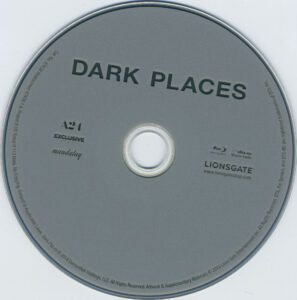 dark places blu-ray dvd label