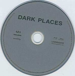 dark places blu-ray dvd label