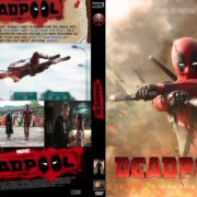 Deadpool (2016) Custom Dvd Cover