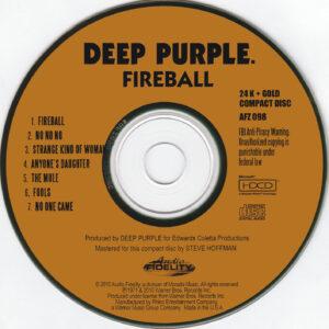 Deep Purple - Fireball - CD