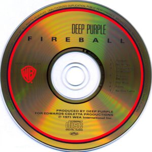 Deep Purple - Fireball (Japan) - CD