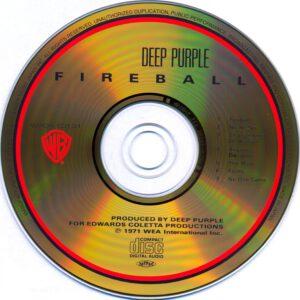 Deep Purple - Fireball (Japan) - CD