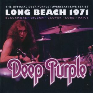 Deep Purple - Long Beach 1971 - 1Front