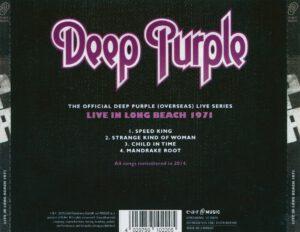 Deep Purple - Long Beach 1971 - Back