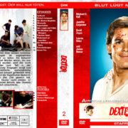 Dexter – Staffel 2 (2007) R2 german custom