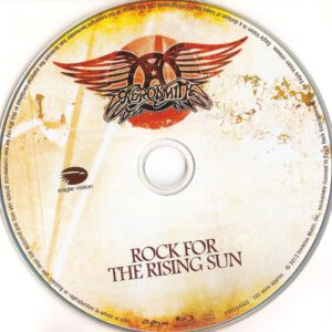 Rock For The Rising Sun blu-ray dvd label