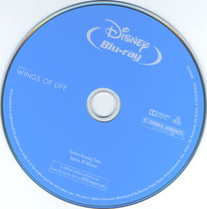 disneynature wings of life dvd label