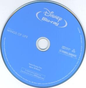 disneynature wings of life dvd label