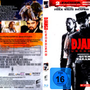 Django Unchained (2012) R2 Blu-Ray German