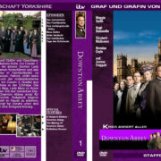 Downton Abbey - Staffel 1 (2010) R2 german custom