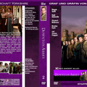 Downton Abbey - Staffel 2 (2011) R2 german custom
