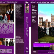 Downton Abbey - Staffel 5 (2014) R2 german custom