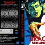 Dracula und seine Bräute (1960) Custom Blu-Ray DVD Cover (german)