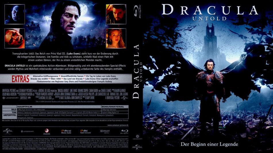 Dracula Untold Blu Ray Dvd Cover 2014 R2 German
