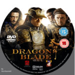 Dragon Blade (2015) R2 Custom DVD Label