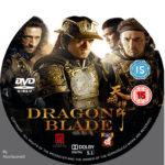 Dragon Blade (2015) R2 Custom DVD Label