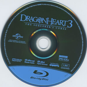 Dragonheart 3 The Sorcerer´s Curse - DVD (1-2)