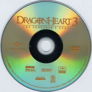 Dragonheart 3 The Sorcerer´s Curse - DVD (2-2)