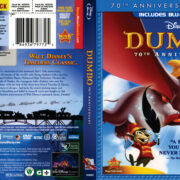Dumbo (1941) R1 Blu-Ray DVD Cover