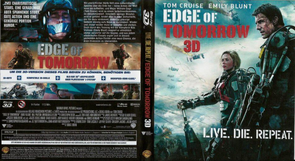 Edge Of Tomorrow Live Die Repeat 3d Blu Ray German 2014