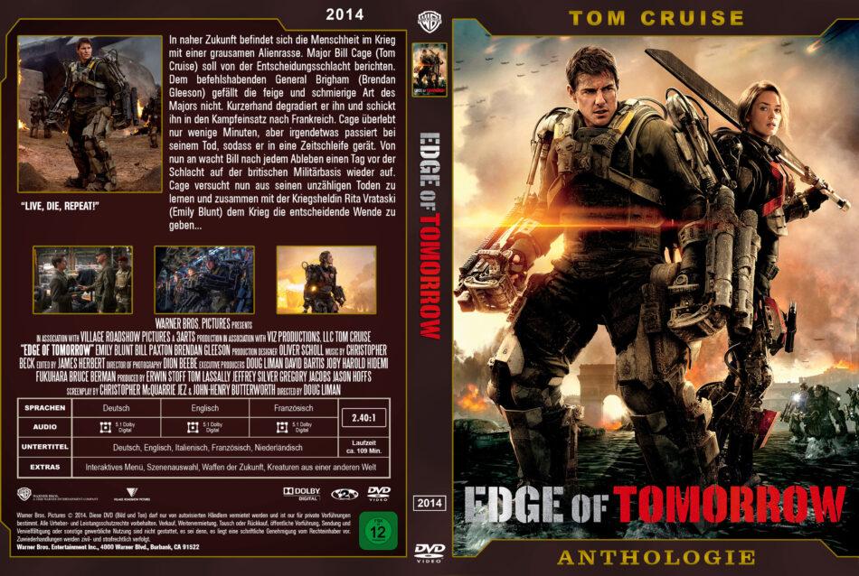 Edge Of Tomorrow Dvd Cover 2014 Custom German