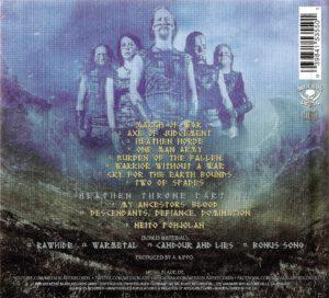 Ensiferum - One Man Army - Back (1-2)