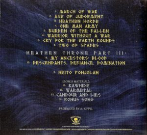 Ensiferum - One Man Army - Back (2-2)