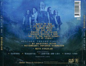 Ensiferum - One Man Army (Russia) - Back