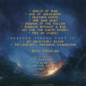 Ensiferum - One Man Army (Russia) - Inside
