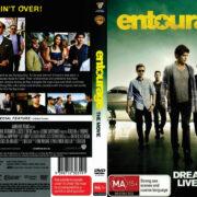 Entourage: The Movie (2015) R4 DVD Cover