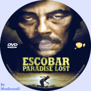 Escobar dvd label