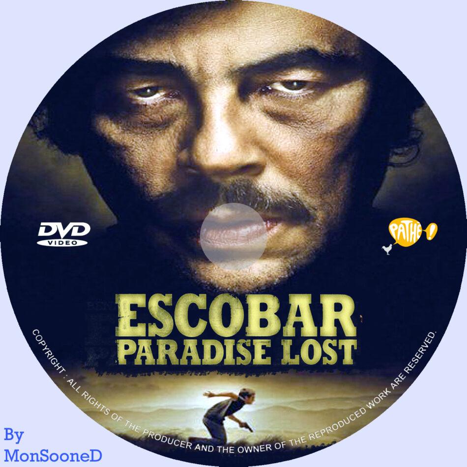 Escobar dvd label