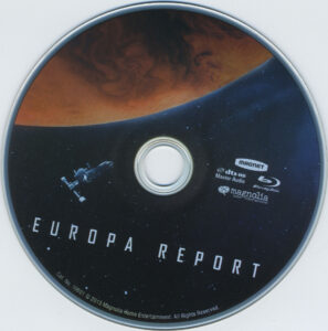 europa report blu-ray dvd label