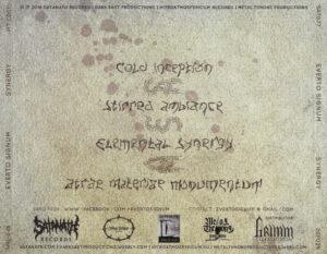 Everto Signum - Sinergy (EP) - Back
