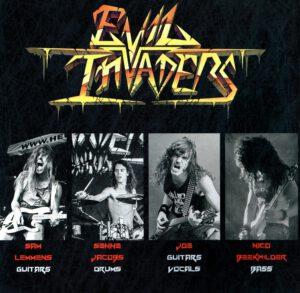 Evil Invaders - Pulses Of Pleasure - Inside