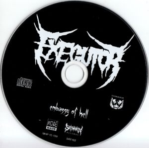 Exegutor - Embassy of Hell - CD