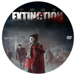 Extinction dvd label
