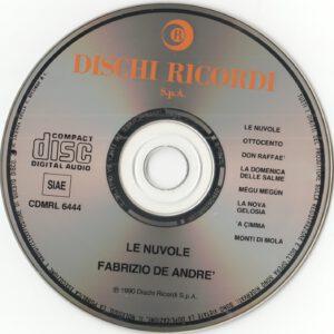 Fabrizio De Andre' - Le nuvole (CD)