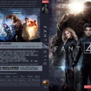 Fantastic Four (2015) R0 Custom BD Cover & Label