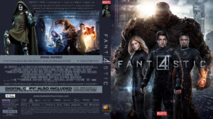 fantastic four blu-ray dvd cover